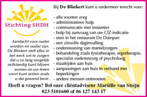 Advertentie De Blinkert