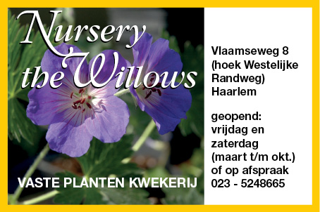 Advertentie the willows