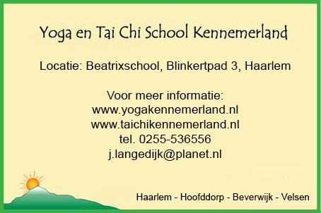 advertentie yoga
