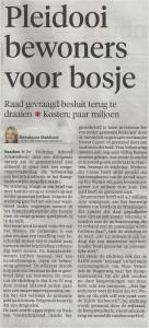 Haarlems Dagblad 27/11/2014