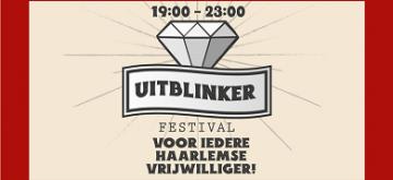 Haarlemse vrijwilligers in het zonnetje met Uitblinker Festival